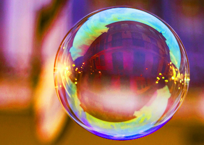 Saved by the Bubble — Nearly Running Out of Money at 88
